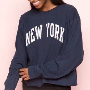 brandy melville camila new york top